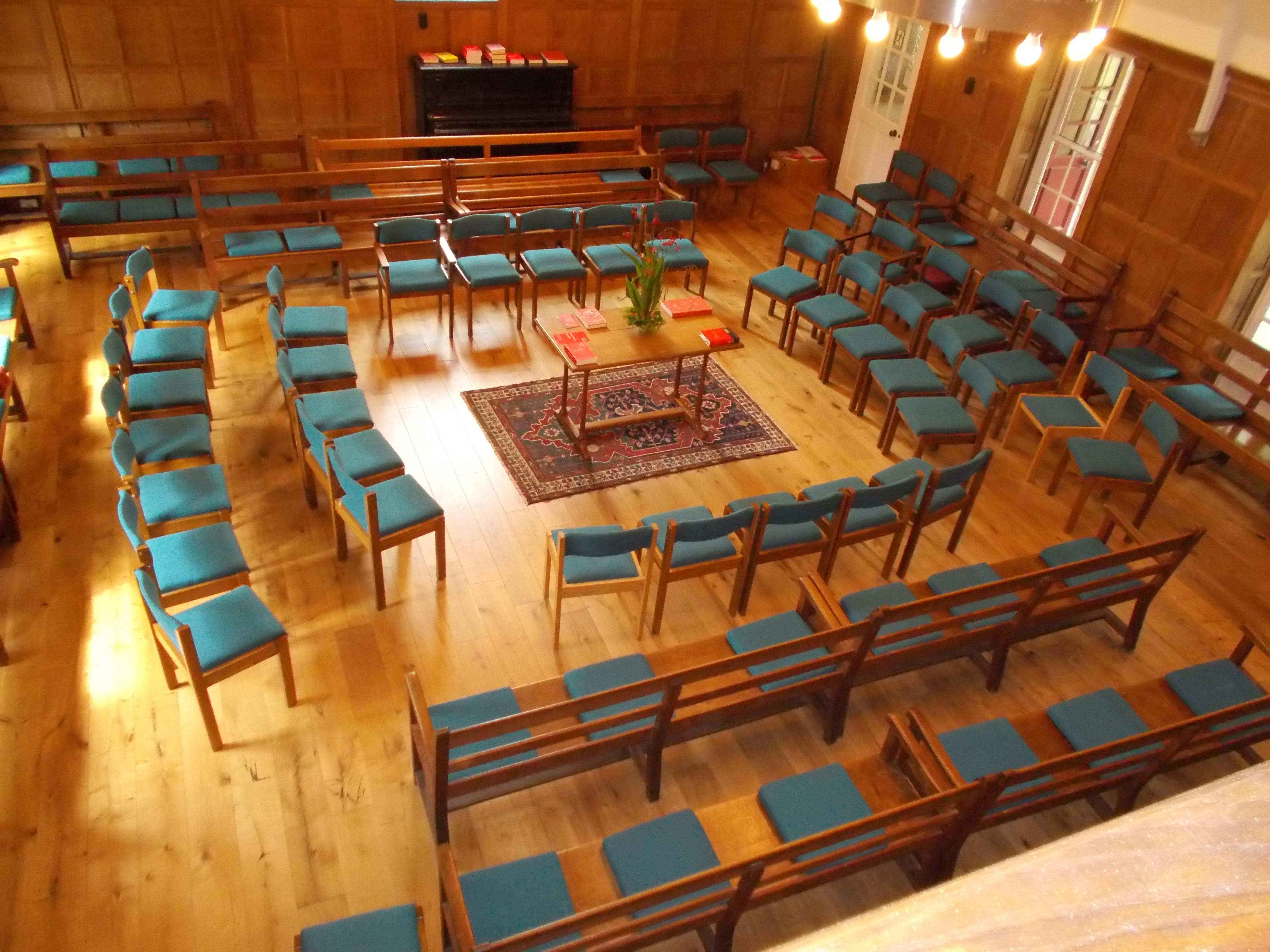 Meetin House set up M4W side